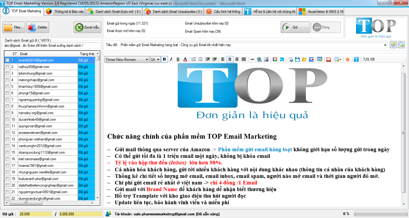 phan mem gui email marketing hagn loat