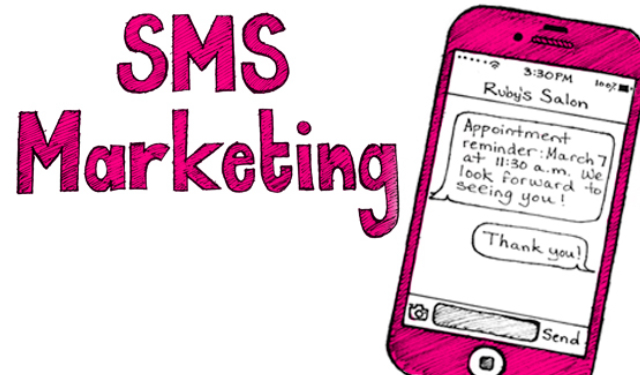 sms marketing miễn phí trong spa