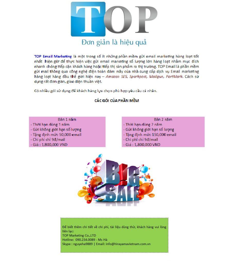 thiết kế email marketing trên word - mẫu TOP