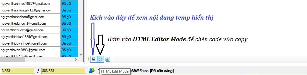 Dán mã code copy từ getrespone