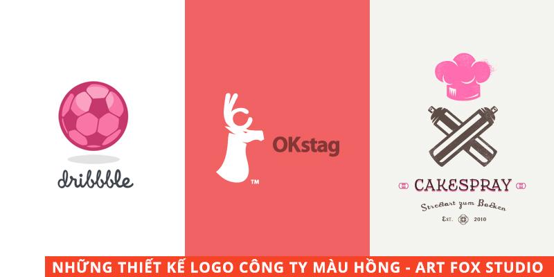 ý nghĩa màu hồng trong thiết kế logo
