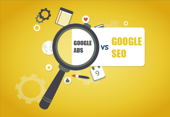 Nên chọn google adwords hay seo cho marketing online