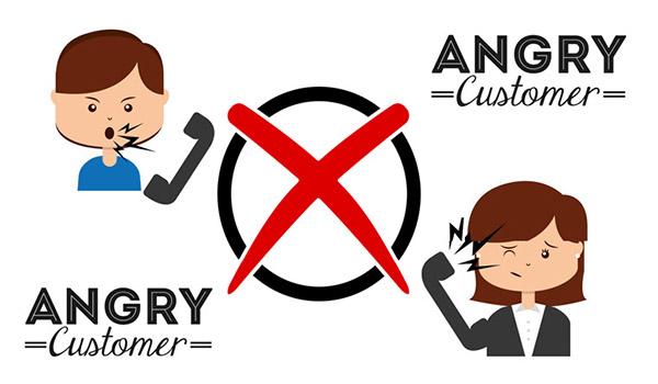 xoa dịu khi khách hàng nổi giận