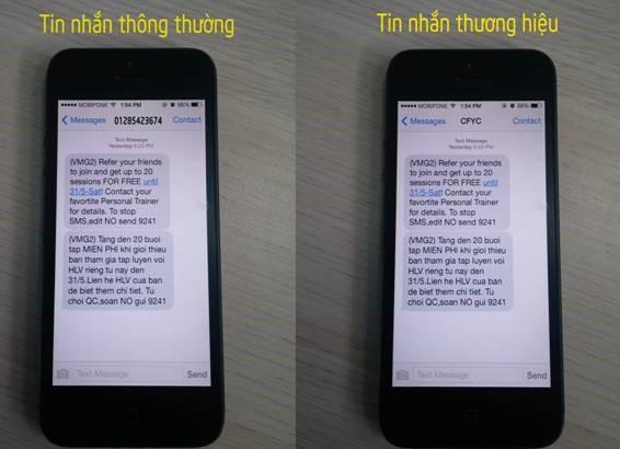 SMS Brand Name Dịch vụ tin nhắn thương hiệu