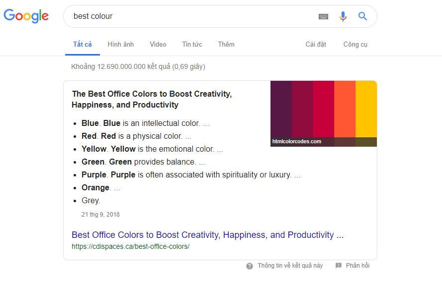 Xu hướng seo lên top google 2019