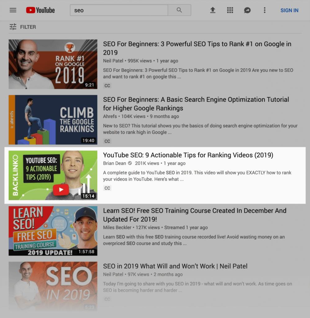 Youtube marketing là gì ? Màu sắc thumbnail nên dùng cho youtube