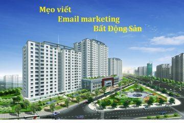 Mẹo viết email marketing bất động sản